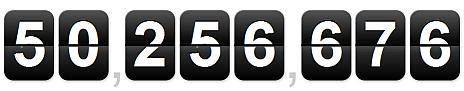 weltweit 50 millionen wordpress installationen