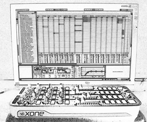 Ableton Live Allen & Heath Xone K2