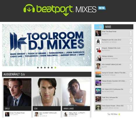 Beatport Mixes DJ Sets