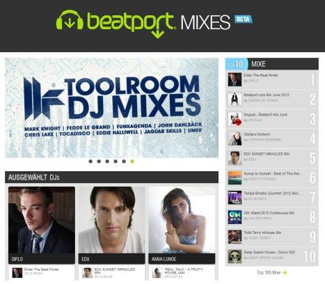 Beatport Mixes DJ Sets