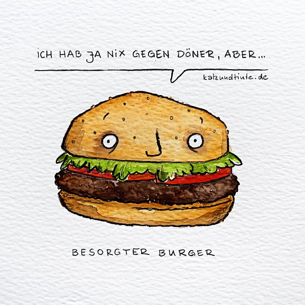 Besorgter Burger hat nichts gegen Döner
