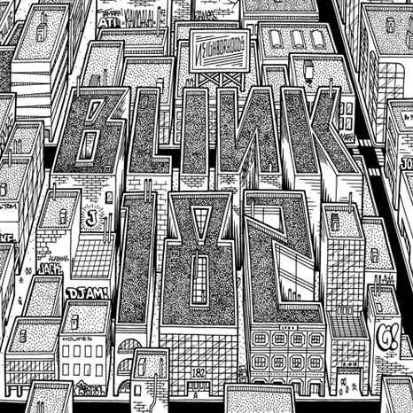blink-182 neighborhoods cover