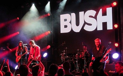 Bush live Frankfurt Gibson