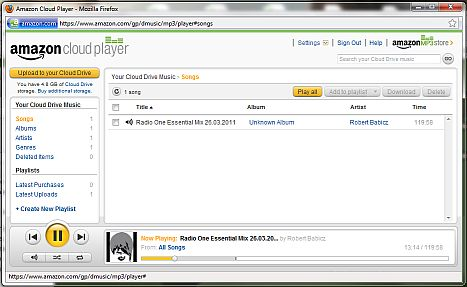 cloudplayer amazon