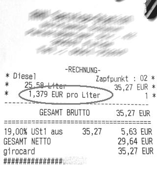 Dieselpreis Fulda