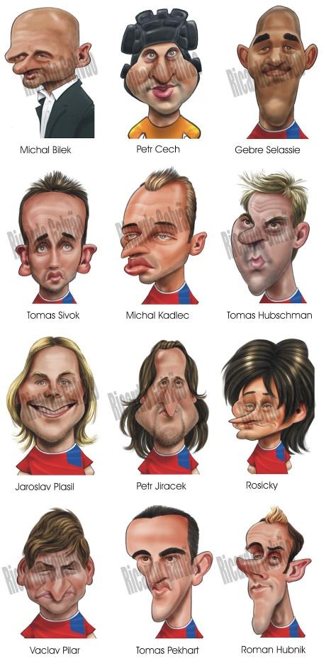 Tschechien Karikatur EM 2012