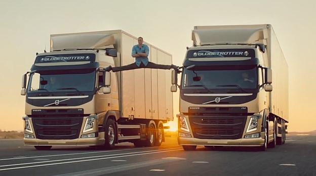 Epic Split Van Damme Volvo
