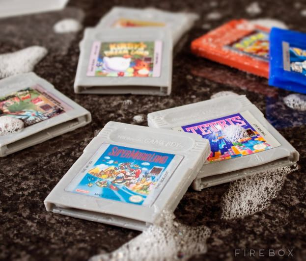 Game Boy Cartridge Soap