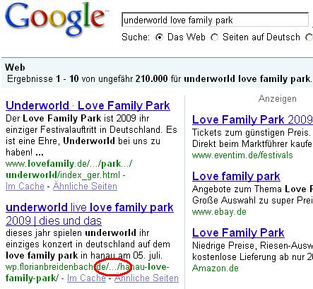 google kürzt urls