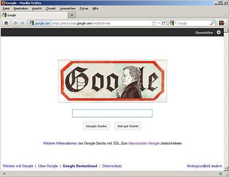 https google doodle goethe