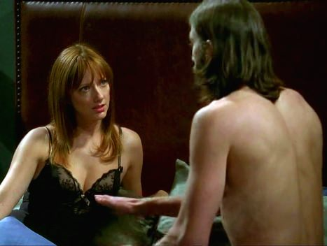 Judy Greer Two and a half Men Ashton Kutcher