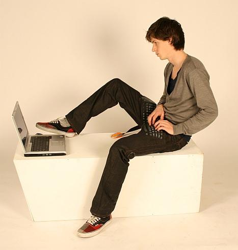 Keyboard Jeans Nerd