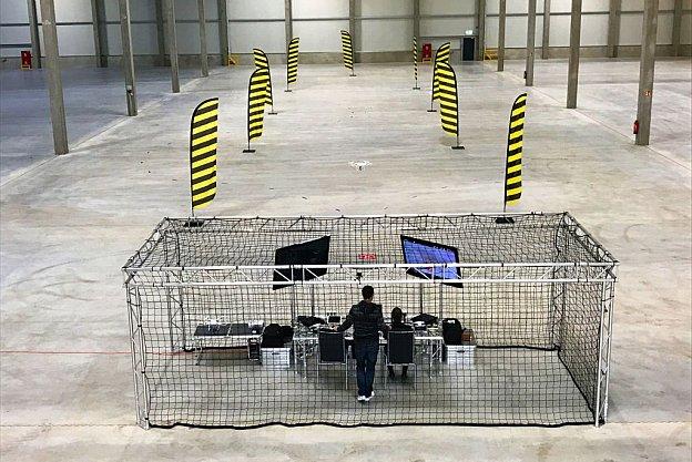 Drohnenparcours Vermietung KTL Events