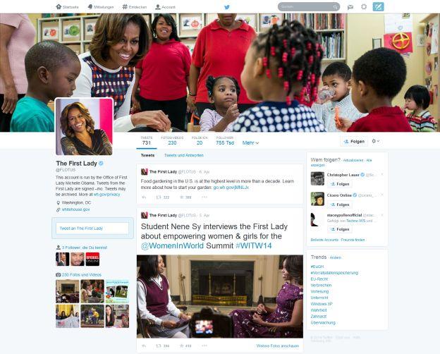 Neues Twitter Profil