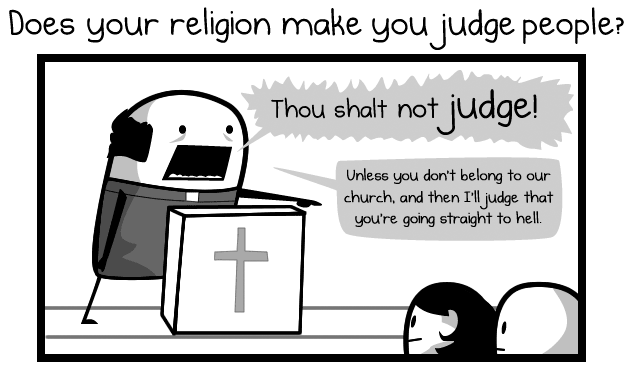 The Oatmeal - How to suck at your religion