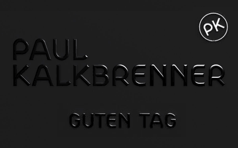 Album Cover Paul Kalkbrenner Guten Tag