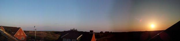 Spiekeroog Sonnenaufgang Panorama
