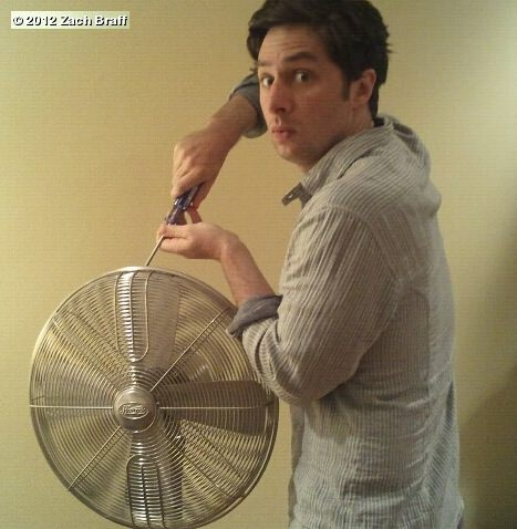 Zach Braff screwing Fan